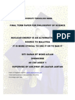 opinion on nuclear energy