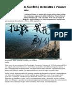 Migrazioni Liu Xiaodong in Mostra a Palazzo Strozzi Di Firenze
