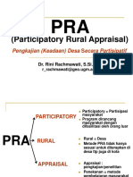 Teknik Perencanaan dengan Metode PRA