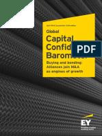 EY Global Capital Confidence Barometer April 2016