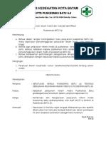 SK Pelayanan Rekam Medis Dan Metode Identifikasi FIX