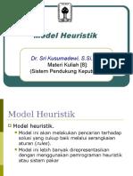 Pertemuan 7 Model Heuristik