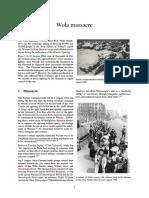 WW2 1944 WARSAW - Wola Massacre
