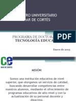 DTE-P. DIAPOSITIVAS DE INICIACIÓN AL POSGRADO