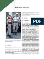 UNIF - Uniforme Militaire
