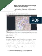 Delimitación de Una Cuenca Hidrográfica y Cálculo de Sus Parámetros Geomorfológicos