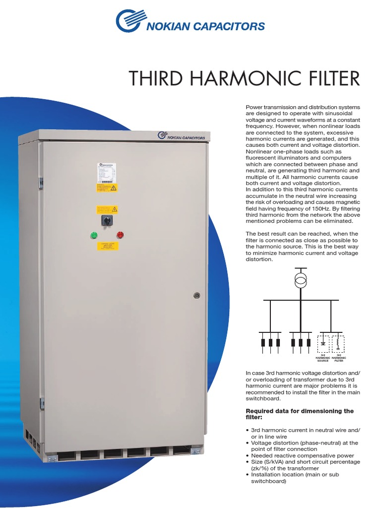 14. 3rd Harmonic Filter | Electric Power | Electrical Engineering