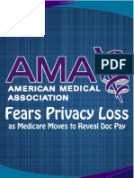 AMA Fears Privacy Loss - Medicare Moves to Reveal Doc Pay