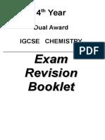 Revision Booklet [4,D]