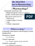 Introduction to Pharmacology(1)