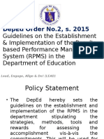 Rpms_deped Order No 2