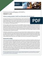 16-614 FinTech Lending Update