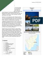 Thanjavur - Monumental City of TN