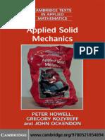 Solid Mechanics Pdf