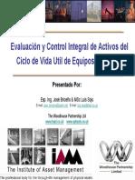 Evaluacion y Control Integral Del Ciclo de Vida de Activos V