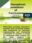 Philosophical Foundation of Educ