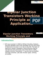 Bipolar Junction Transistors Working Principle and Applications
