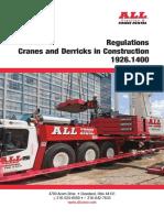 Osha Cranes Derricks All Crane