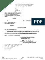 AFFIDAVIT of Mark Schoen Filed - p 107