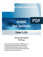 1. NS500 Basic Spec 2014-1015