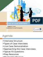Primer on Case Interviews
