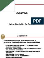 COSTO 5 Estados Financieros