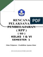 Rpp  PAI SD Smt 1