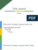 Level Design PowerPoint Templates