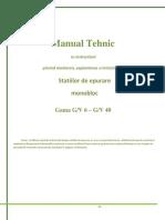 Manual Statie Epurare GV