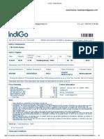 Gmail - IndiGo Itinerary