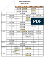3-Weekly Time Table_PGDM - II (July 11 -17, 2016)