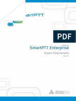 SmartPTT Enterprise 9.0 System Requirements