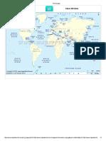 World Oceans & Seas Map