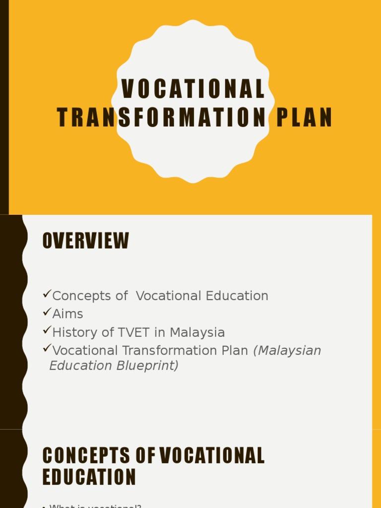 Vocational transformation plan vocational education secondary vocational transformation plan vocational education secondary education malvernweather Choice Image