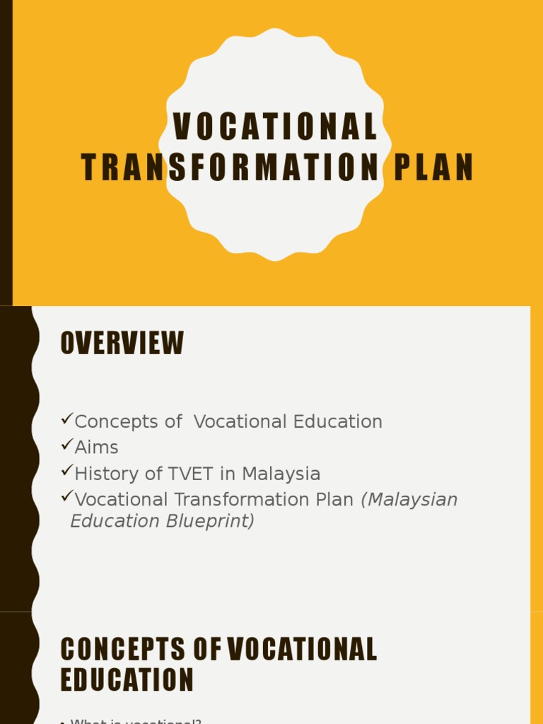 Vocational transformation plan vocational education secondary vocational transformation plan vocational education secondary education malvernweather Image collections
