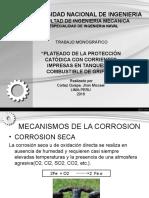 corrosion con corrientes impresas