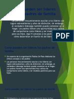 Como Pueden Ser Líderes Los Padres de Familia