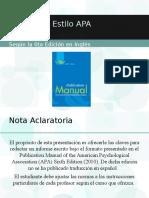 Manual APA para citas y referencias bibliográficas