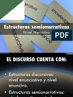 Estructuras Semionarrativas