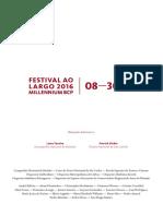 Programacao Festival Ao Largo 2016