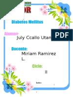 Diabetes Mellitus MONOGRAFIA