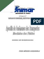 Fenômenos Dos Transportes 2009