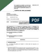 Consulta Relativa a La Ley Sobre Reproducción Asistida (CAQ)
