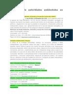 Directorio de Autoridades Ambientales en Colombia