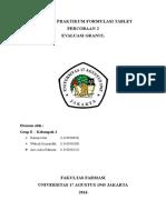 2. Laporan Evaluasi Granul