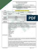 Infome Programa de Formación Titulada TMI