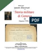 Cenni GENOESE Military History 3. 1745-46