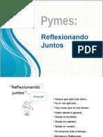 Pymes_Reflexionando Juntos_31 05 16