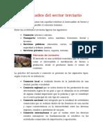Actividad del sector terciario.docx