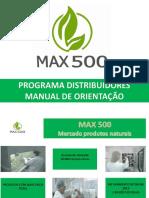 1-Manual de Orientação Distribuidor Max500